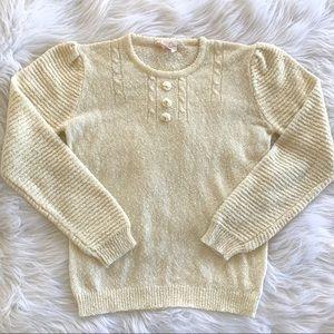 Vintage 90s Dainty Grandma Sweater